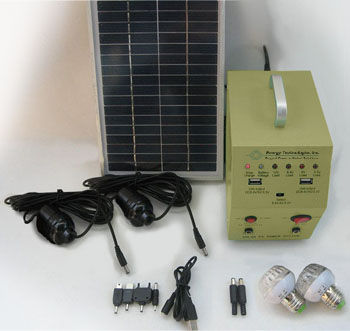Solar Lighting for Shelters